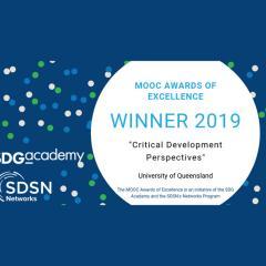 Award-winning MOOC